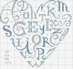 cuore - lettere con colori jpg