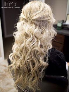 Beach curls.