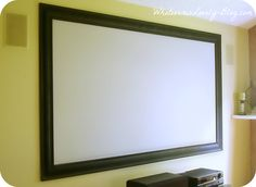 Framed Projector Screen