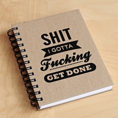 Notebook from Cool Material.