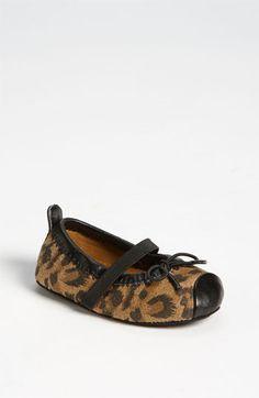 Leopard Crib Shoe