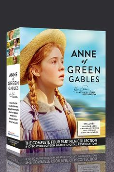 Anne of Green Gables FOUR movie boxed set. They've remastered the original movies and made them wide screen!  HOLY MOLY.