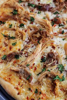 Thai Sweet Chili Pork Pizza