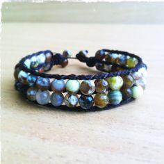 Gorgeous fire agate bracelet