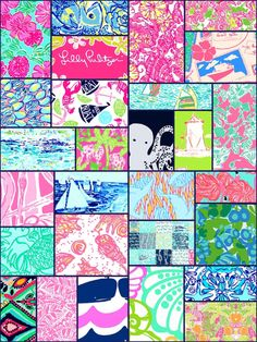 Lilly collage