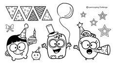 monster, digit stamp, clipart, digi stamps, halloween, digistamp
