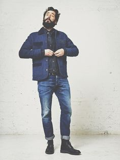 A great workwear look from Scotch & Soda. So jovial