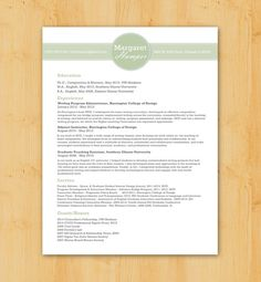 Custom resume writing service