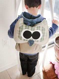 Owl Backpack Pattern INSTANT Download PDF File by TheSewingLoft