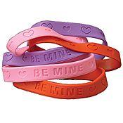 Valentine Rubber Band Bracelets