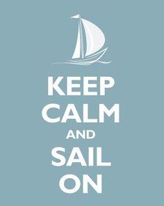 calm sail, nurseri, keep calm