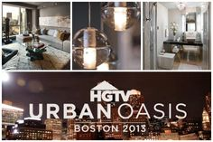 Welcome to our virtual open house.  Make yourself at home and enjoy the tour (and remember to refresh your browser often to see the latest pins).  Before we step inside, let's get to know Boston --home of #HGTVUrbanOasis 2013!  @HGTV FrontDoor.com