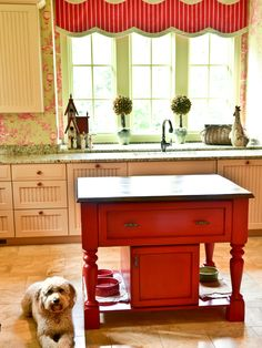 Country French Design, Pictures, Remodel, Decor and Ideas - page 190 Great small island for those small kithcen alot of us have