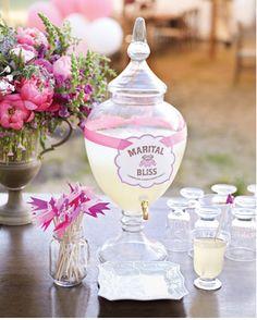Weddbook ♥ #wedding #idea #pink #drink