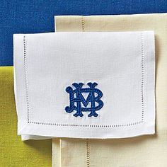 Cipher Monogram - A Guide to Monogrammed Napkins - Southern Living   from Leontine Linens--love!