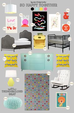 Shared Nursery and Toddler Room Roundup Shoes Off Please