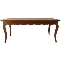 French Louis XV Style Farm Table