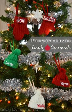 Holiday Decor with a Personal Touch- Love these ornaments! #sponsored #PCHoliday holiday decor, famili ornament