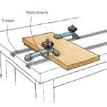 Preview - T-Track is a Smart Workbench Accessory - Fine Woodworking Tip