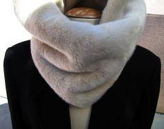 fur neck warmer diy