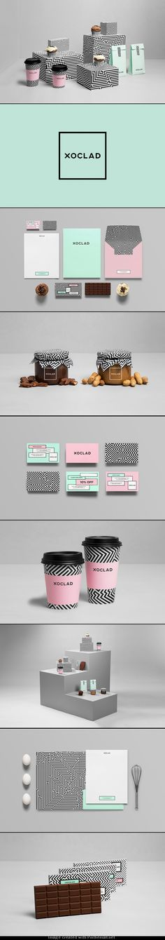 Xoclad by Anagrama (http://anagrama.com) #identity #packaging #branding looks similar to Domca don't you think PD