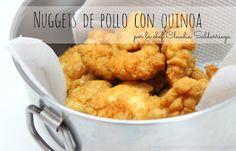 Nuestro Mundo Creativo: Nuggets de pollo caseros con quinoa