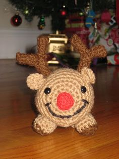 Rudolph the Reindeer Crochet Hat Pattern - Scribd
