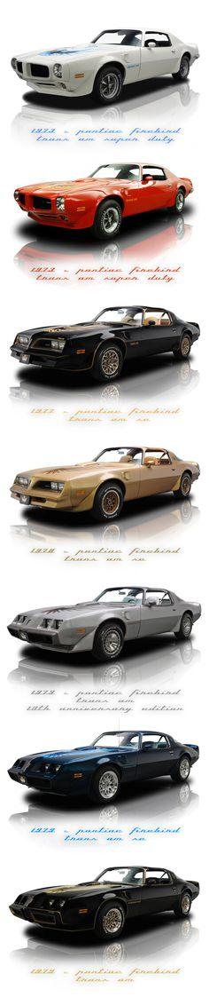 Pontiac Firebird Trans Am 1970's