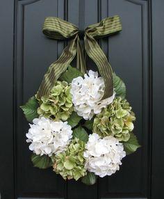 Wreaths  Hydrangea Wreath