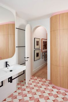 A renovated 19th century terrace with pastel pink floors and secret doors | Inside Out
