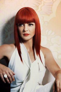 Copper hair Top 6 Australia/ New Zealand Keune colour trophy winner