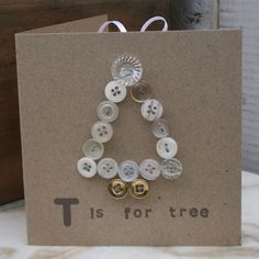 Button Tree card....