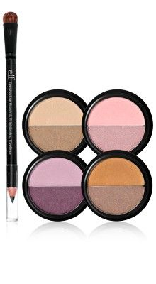 e.l.f. Essential 5-Piece Duo Eyeshadow Collection in Day