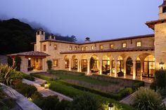 Carmel Valley estate, CA. Evens Architects.