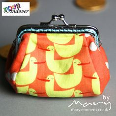 Congratulations to Mary Emmens, our first of this week's winners of the Your Andover contest! She made this adorable coin purse using Lizzy House's Red Letter Day collection.