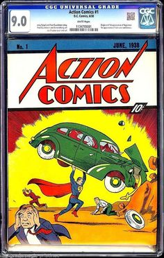 Superman Comic realizes $3.2 million auction record on eBay with 48 bids.