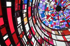 Epic!      Stained Glass Watertower Sparkles Along Brooklyn's Skyline - My Modern Metropolis