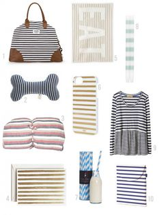 I love stripes.