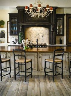 eclectic old world decorating   Eclectic Old World Kitchen Decor Style   Kitchen Design Ideas and ...
