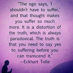 eckhart tolle quotes | Eckhart Tolle | Ego and Suffering
