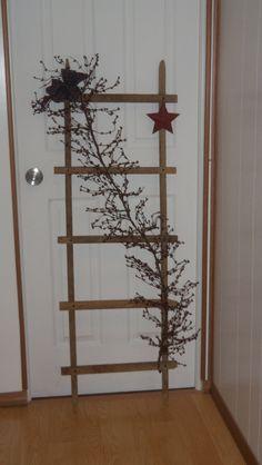 Tobacco Stick Ladder. $40.00, via Etsy.