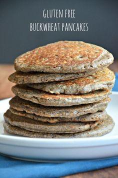 Gluten Free Buck Wheat Pancakes, www.mountainmamacooks.com