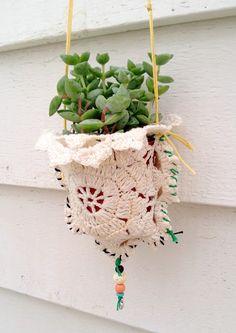 dottie angel: 'peachy plant pocket handy hangers'...