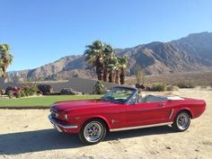 Ford : Mustang C Code 65 Mustang Red  White Pony - http://www.legendaryfinds.com/ford-mustang-c-code-65-mustang-red-white-pony/
