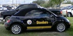 The Steelers bug! That's one good looking car!