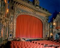 Kalamazoo State Theatre.  A wonderful schedule of music and comedy, just a short walk from the Kalamazoo House B.