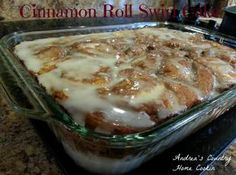 CINNAMON ROLL SWIRL CAKE Recipe