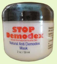 Demodex Mask is all natural product that was created to kill human demodex mites and to help with treatment of Demodicosis.