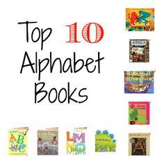 Top 10 Alphabet Books
