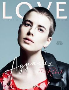 Love Magazine - Agyness Deyn